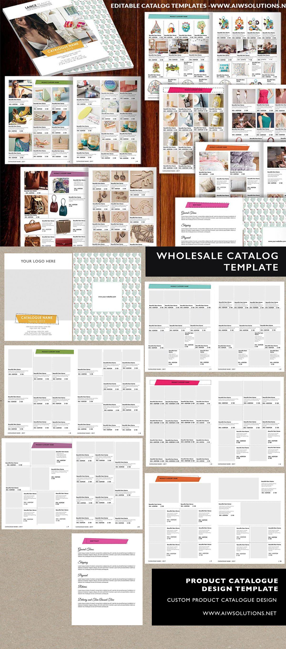 Wholesale Catalog template-id06