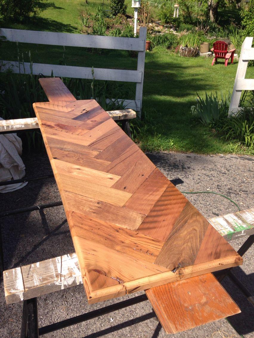 2019 Bar LumberProjects In Reclaimed Top Herringbone From qzVMUSp