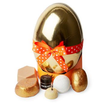 Golden egg lush wrapped gift easter 2017 includes sunny side golden egg lush wrapped gift easter 2017 includes sunny side bubble bar butterball bath bomb negle Gallery