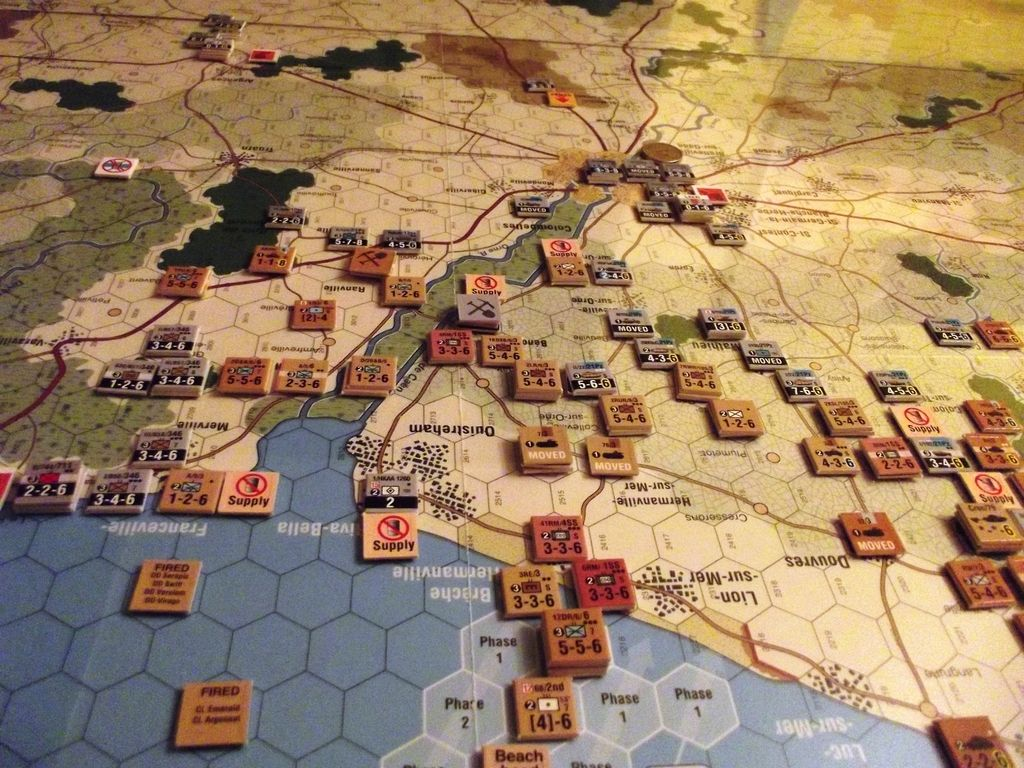 GMTGames Battle for Normandy Board games, Wargaming