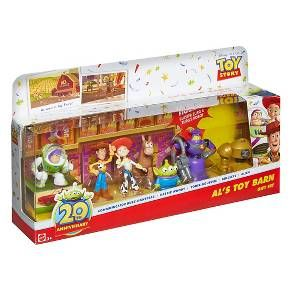 Disney Pixar Toy Story 20th Anniversary Als Barn Buddies 7 Pack Gift Set Target