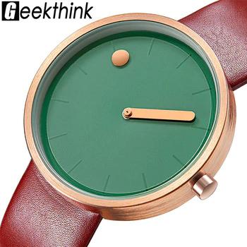 Relojes Unisex Kompritas In 2020 Leather Women Leather Watch Minimalist Watch