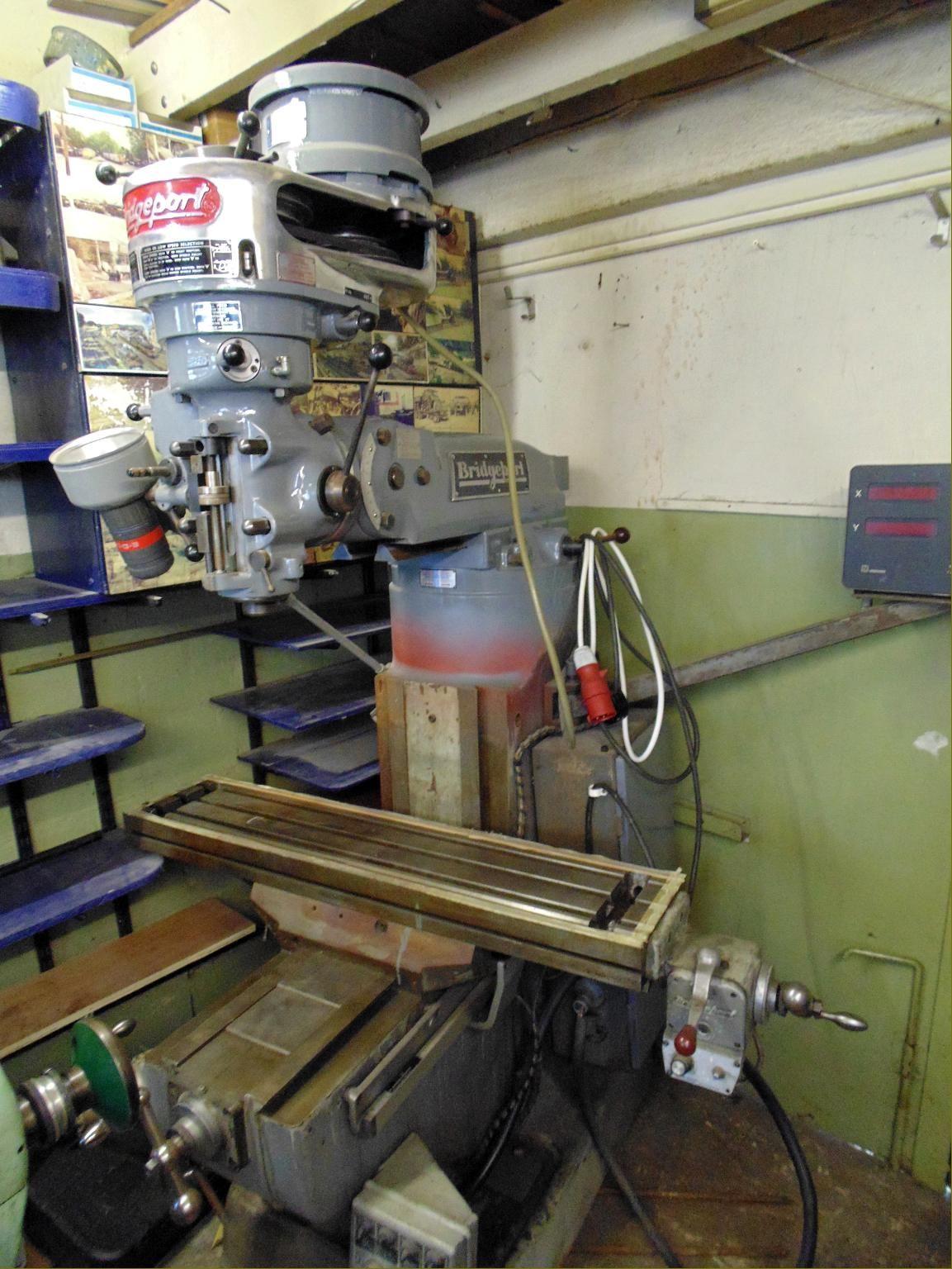 bridgeport series 1 milling machine manual