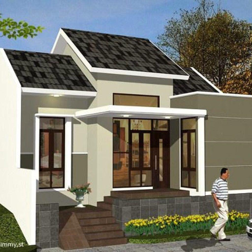 Desain Teras Depan Rumah Sederhana Di Desa Cek Bahan Bangunan