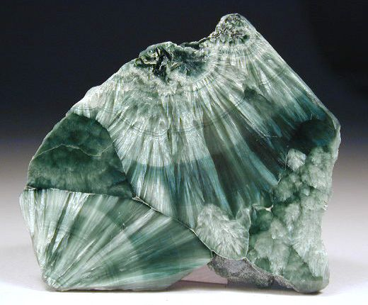 Seraphinite: It's name is derived from the Seraphim (Angels of the highest order) and this stone is used to establish connections to the angelic realm. It carries these vibrations:  *Greater awareness of the Divine Feminine *Restoration of health and balance *Connects the physical with the angelic realm *Encourages living from the heart