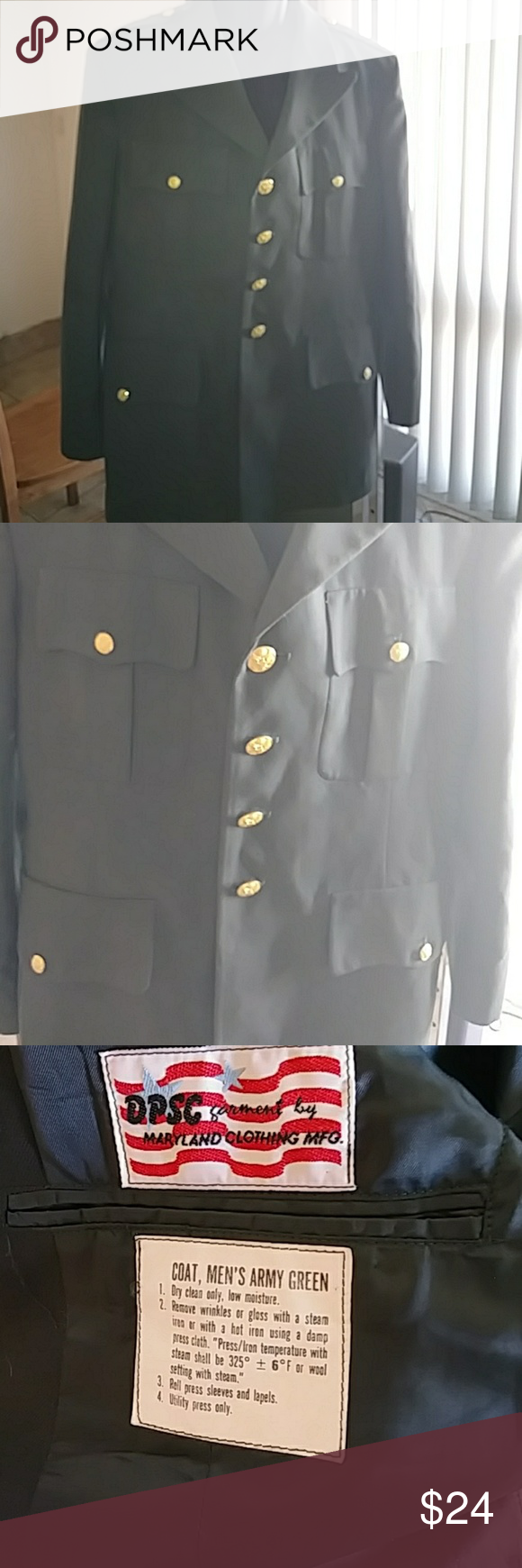 Corporal military green dress coat pinterest military green