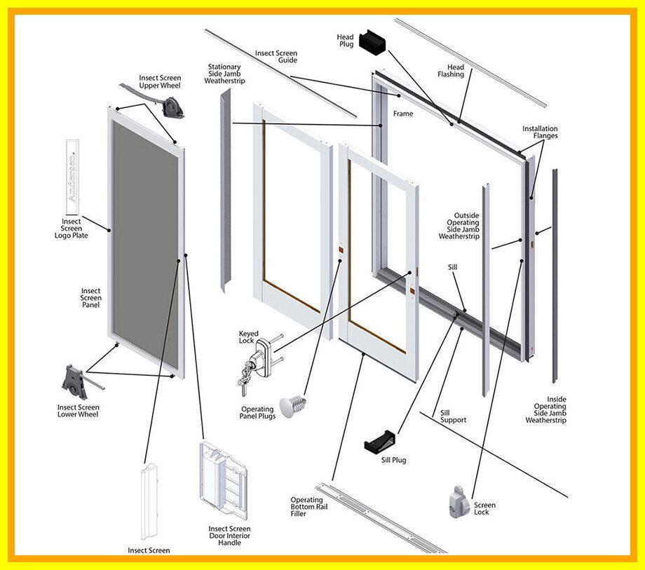 79 Reference Of Sliding Patio Door Hardware Replacement Parts In 2020 Andersen Patio Doors Patio Doors Sliding Patio Doors