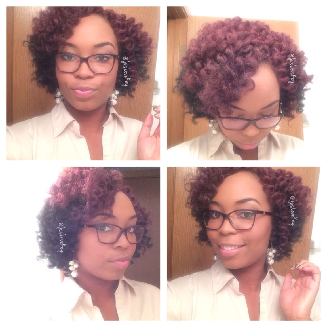 Crochet Braids With Marley Hair With Images Natural Hair Salons Natural Hair Styles Marley Hair