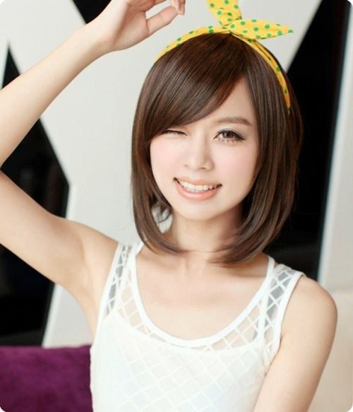 Most Popular Asian Hairstyles For Short Hair Asian Hairstyles - Hairstyle for round face asian girl