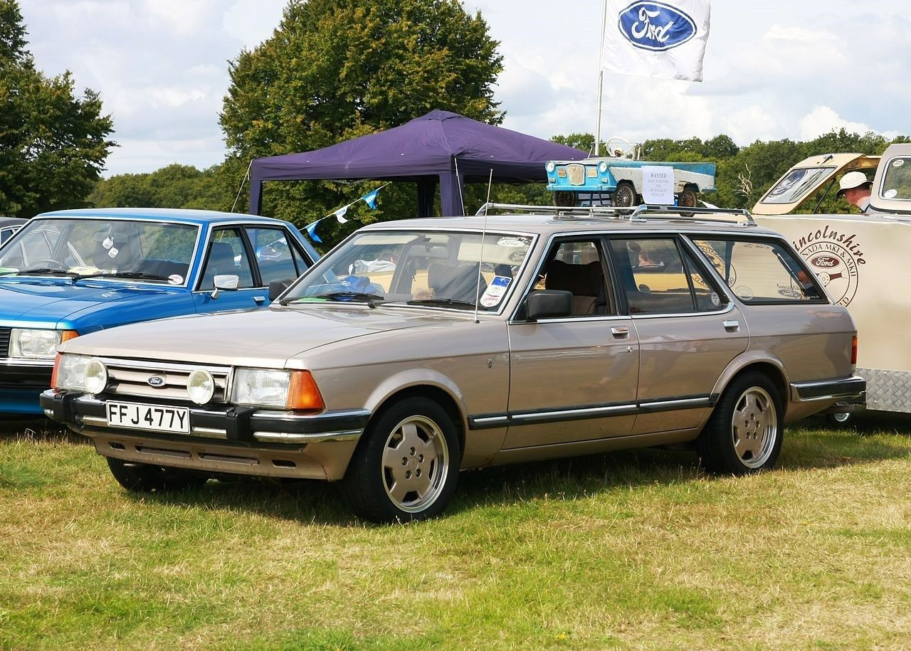 Ford Granada A More Executive Version Of The Cortina Ford