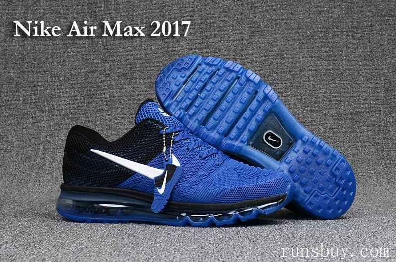 nike air max 2017 bleu et noir