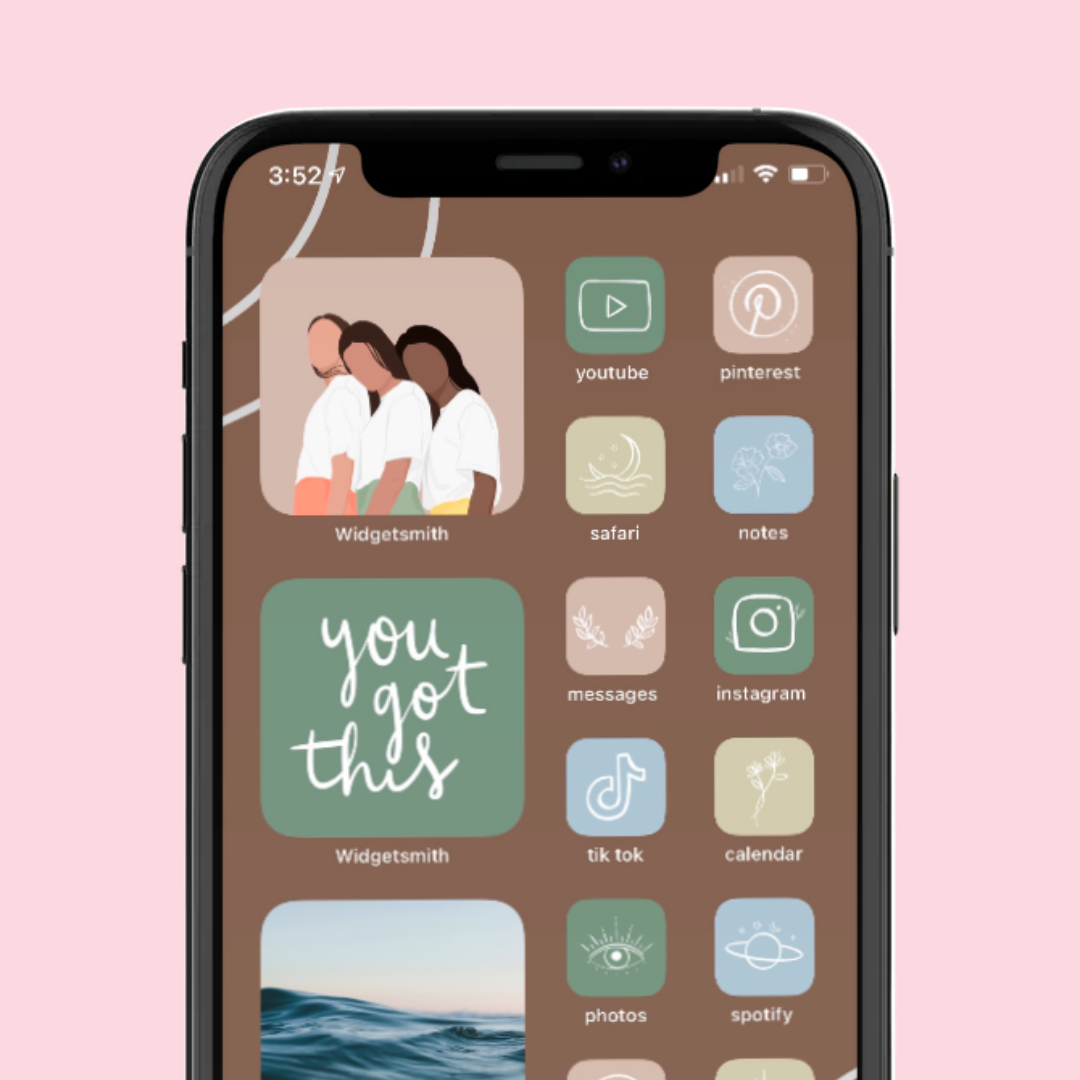 Free Download Home Screen Layout Aesthetic In 2021 Iphone Home Screen Layout Homescreen Homescreen Iphone