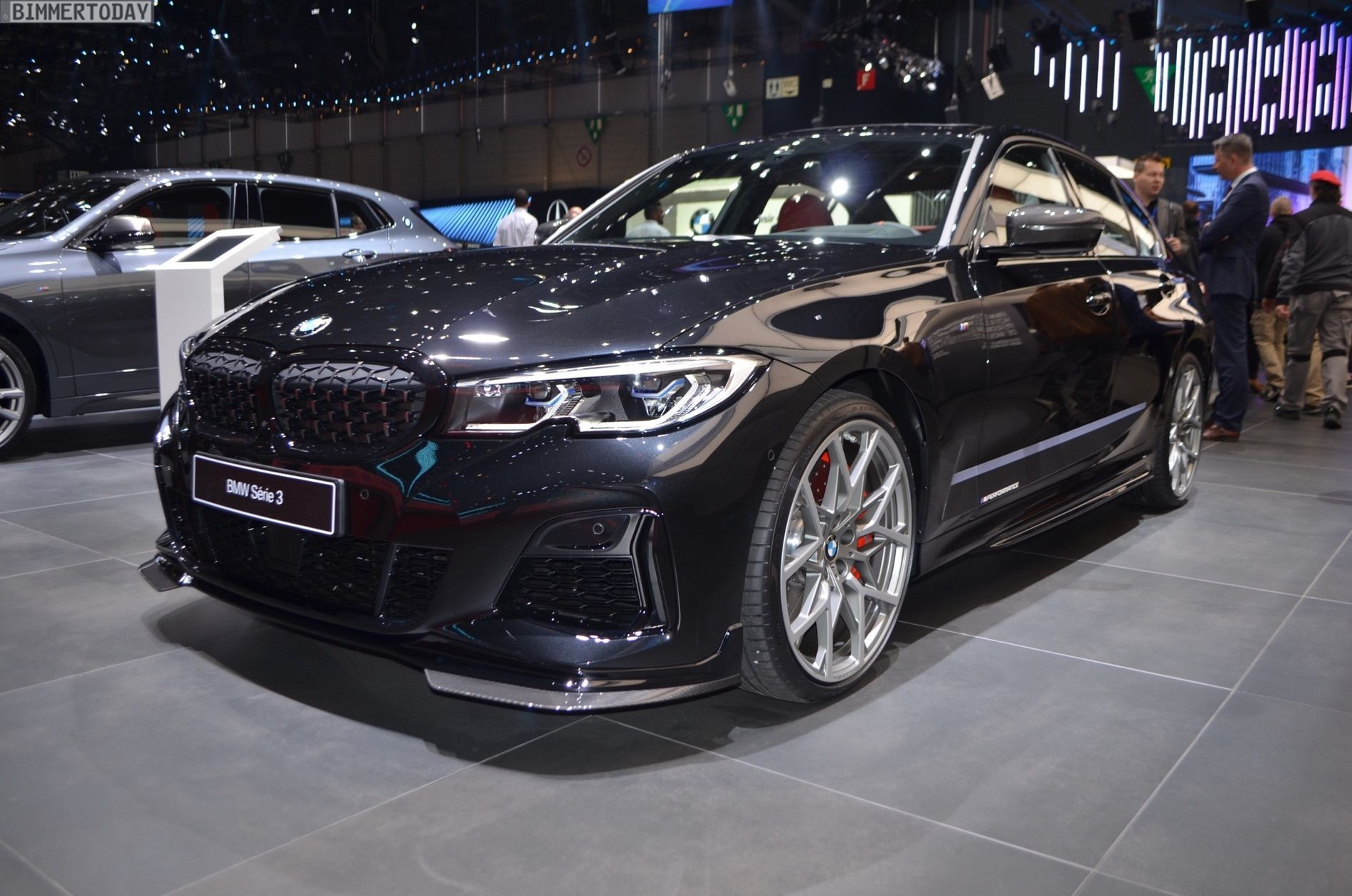 Geneva 2019 Bmw M340i G20 With M Performance Parts Bmw Bmw Touring Performance Parts