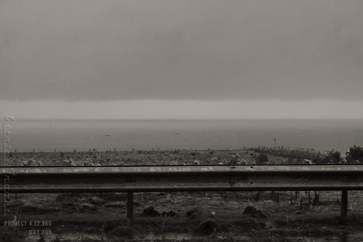 DAG 209: CODE ORANGE  Project 4.12.365   http://phototroost.com/gallery/365/ #photography #fotografie #codeoranje #rain #oosterscheldekering #zeeland #pictureoftheday #imageoftheday  #weer