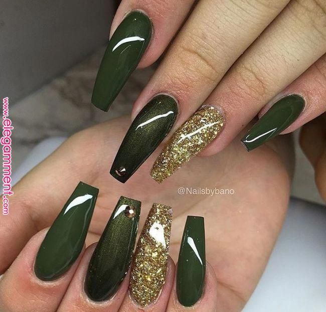 65+Beautiful Matte Glitters Nail Art Ideas | Nails and Nail Art in 2019 | Pinterest | Nails, Acrylic Nails and Nail Art
