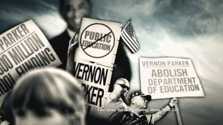 """Jeopardizing Schools"" from the DCCC opposes Vernon Parker, the Republican candidate for U.S. Hosue in Arizona's 9th District. 10/11/12"