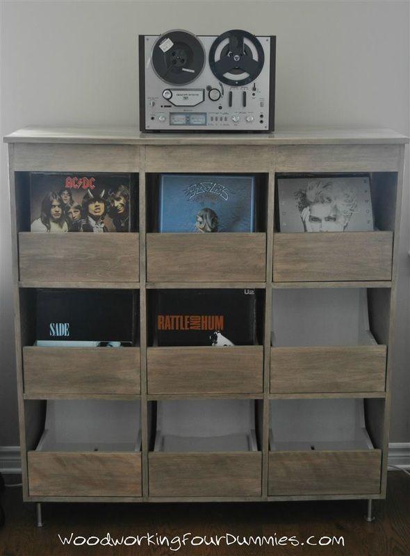 vinyl record cabinet storage my woodworking diy pinterest record cabinet cabinet storage. Black Bedroom Furniture Sets. Home Design Ideas
