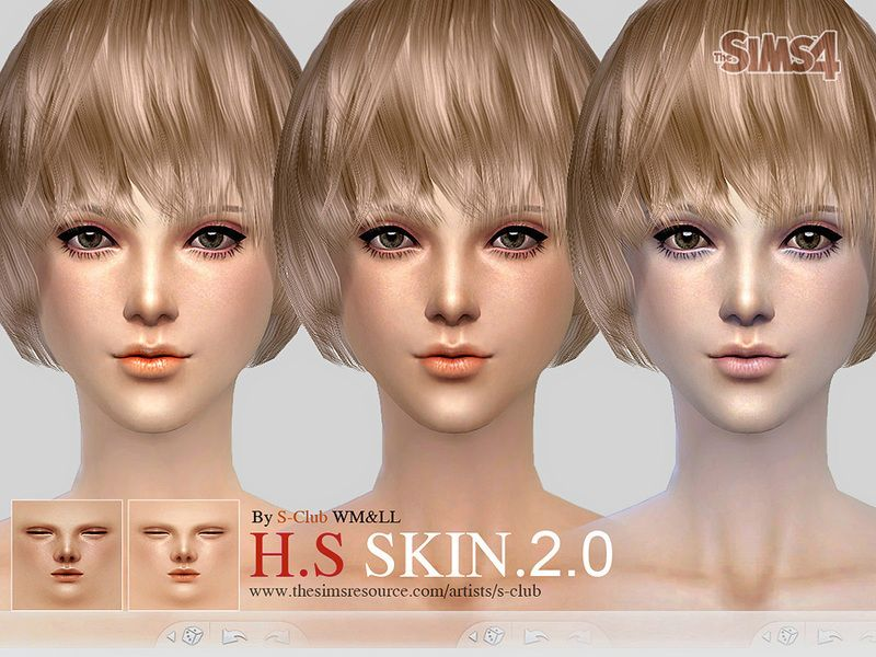 S-Club] WMLL H S ND skintones 2 0 | S4 ○ Skin | Sims 4