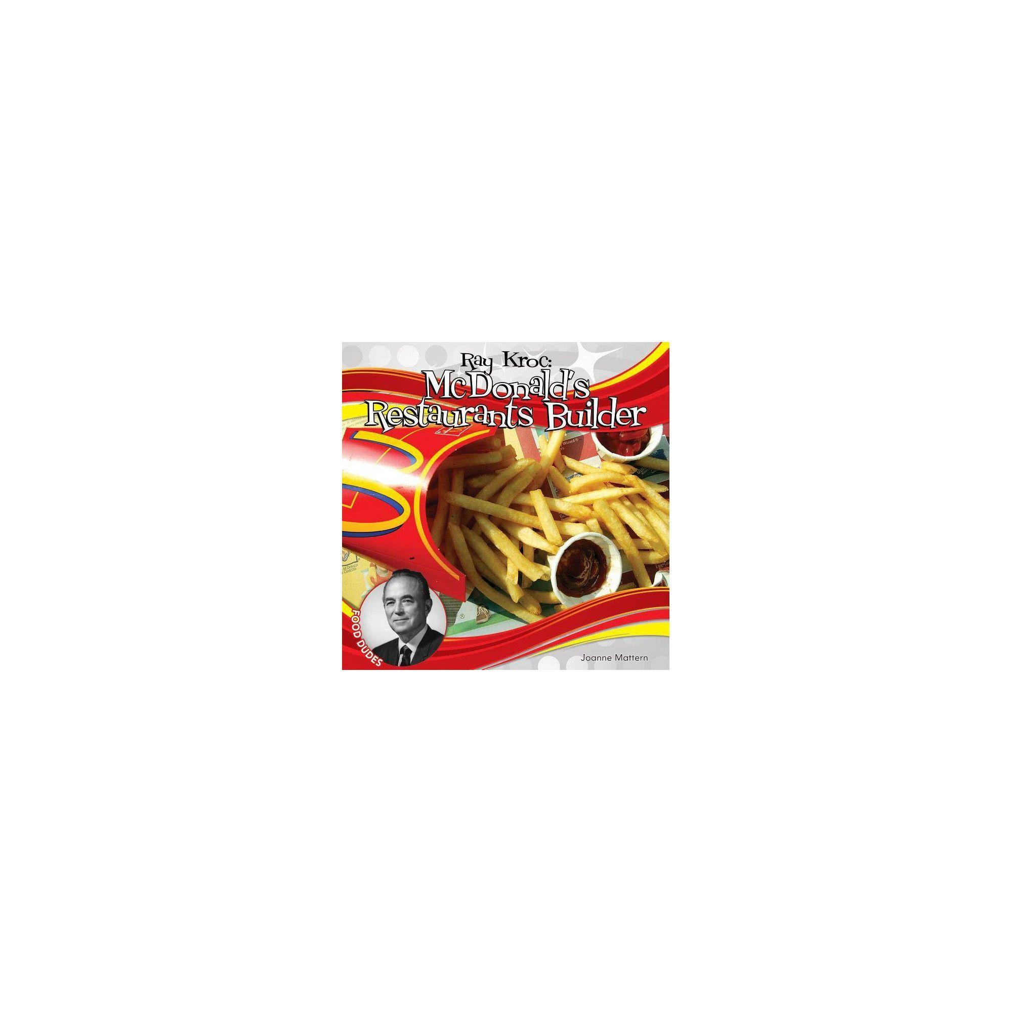 Ray Kroc McDonald's Restaurants Builder (Food Dudes) by