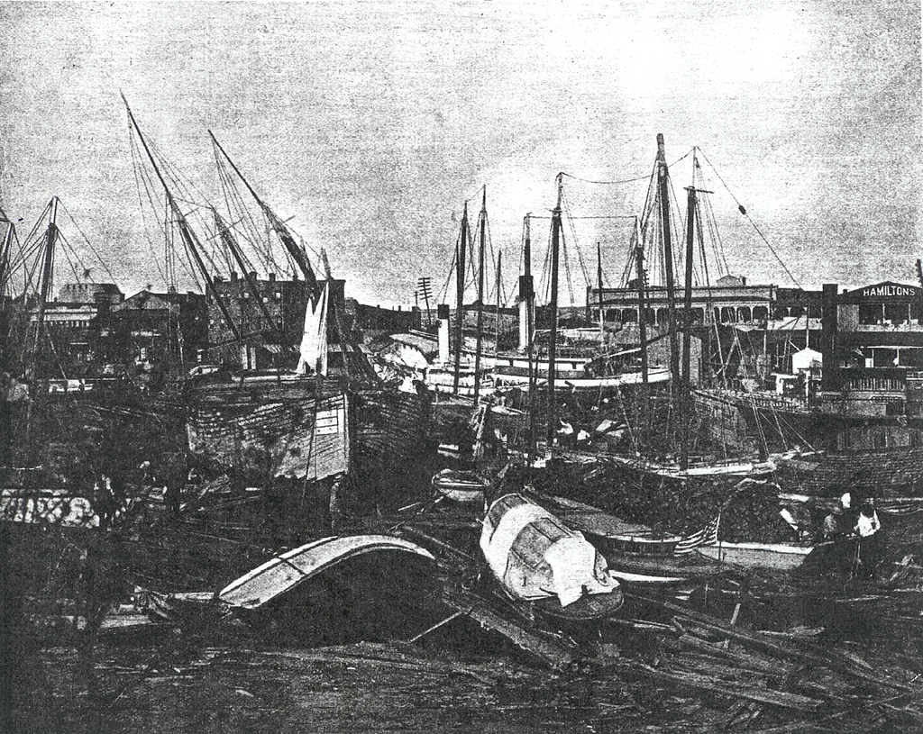Florida Weather 1906 Pensacola Hurricane Damage Florida Hurricane Pensacola Pensacola Florida