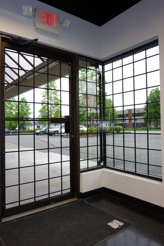 Storefront Window Bars Window Bars Window Security Bars Window Grill Design
