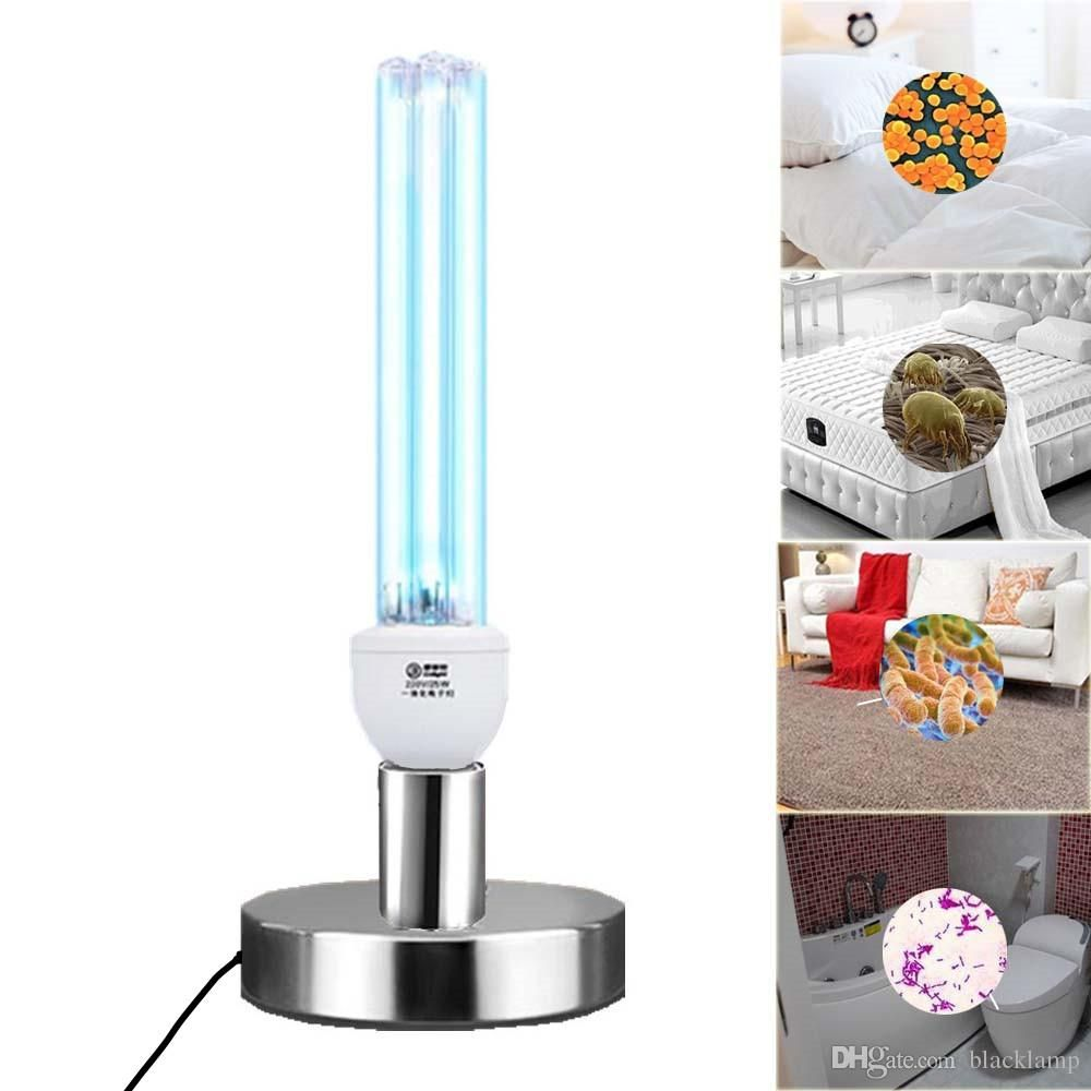 E27 Vuv Household Uv Disinfection Lamp 15w 20w 30w Uvc Quartz Ultraviolet Germicidal Lamps 220v T6 U Smelly Kitchen Lamp Ultra Violet
