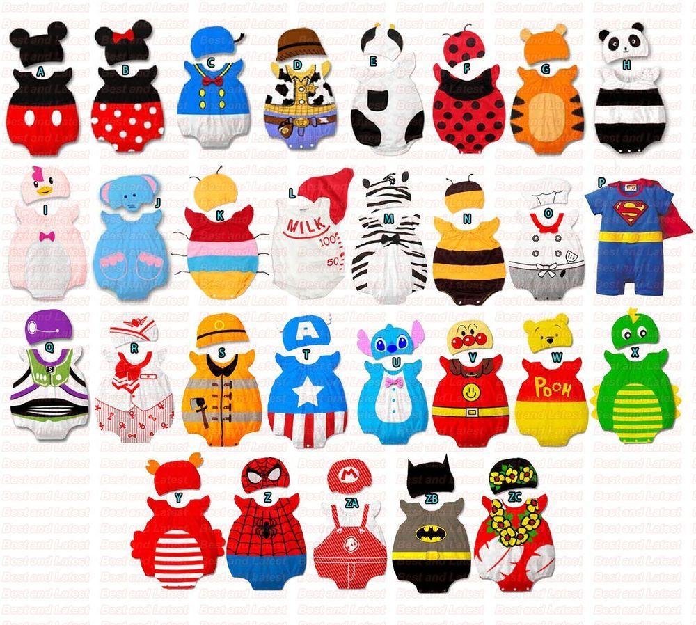 Baby Fancy Dress Romper Costume Boys Girls Toddlers
