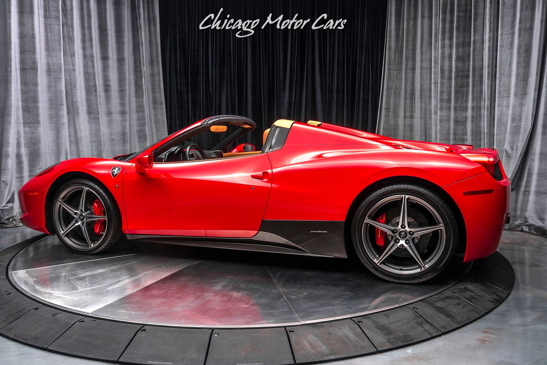 2012 Ferrari 458 Spider Chicago Motor Cars United States For Sale On Luxurypulse Ferrari 458 Motor Car Ferrari