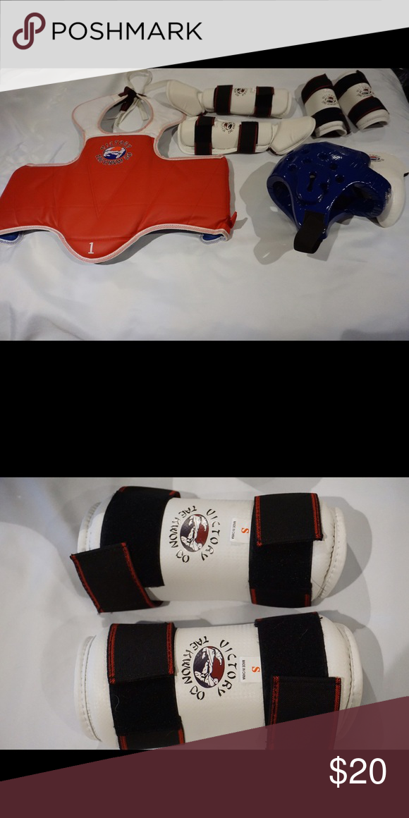 Youth Martial Arts Sparring Gear Set Martial arts