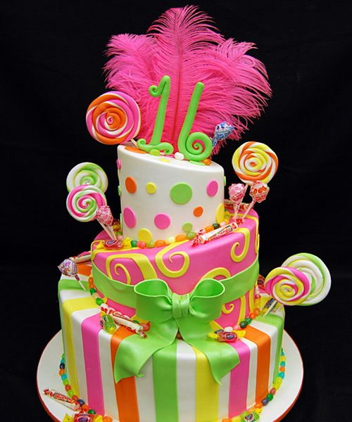 funny 16th birthday cakes1 Sweet 16 Birthday Cakes Baking