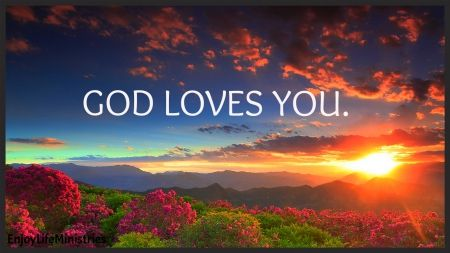 God Is Love Desktop Wallpaper : God Loves You - Sunsets Wallpaper ID 1750931 - Desktop Nexus Nature Books Worth Reading ...