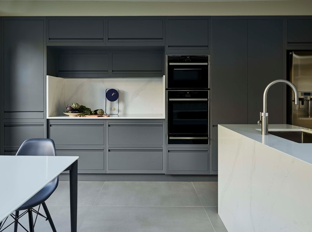 south london victorian terrace contemporary kitchen london by harvey jones kitchens on kitchen cabinets vertical lines id=22184