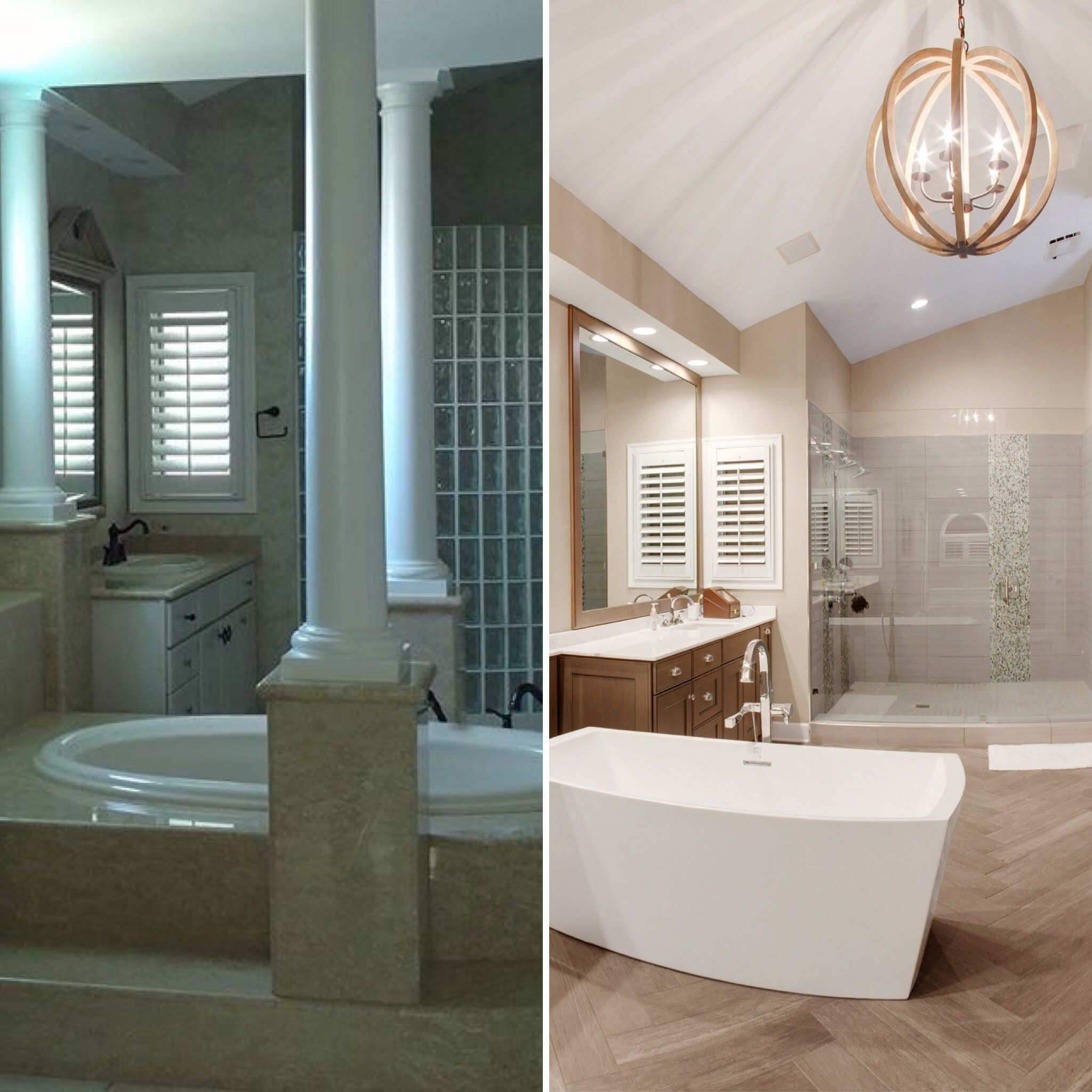 Incredible Before And After Of This Bathroom That Was Part Of A
