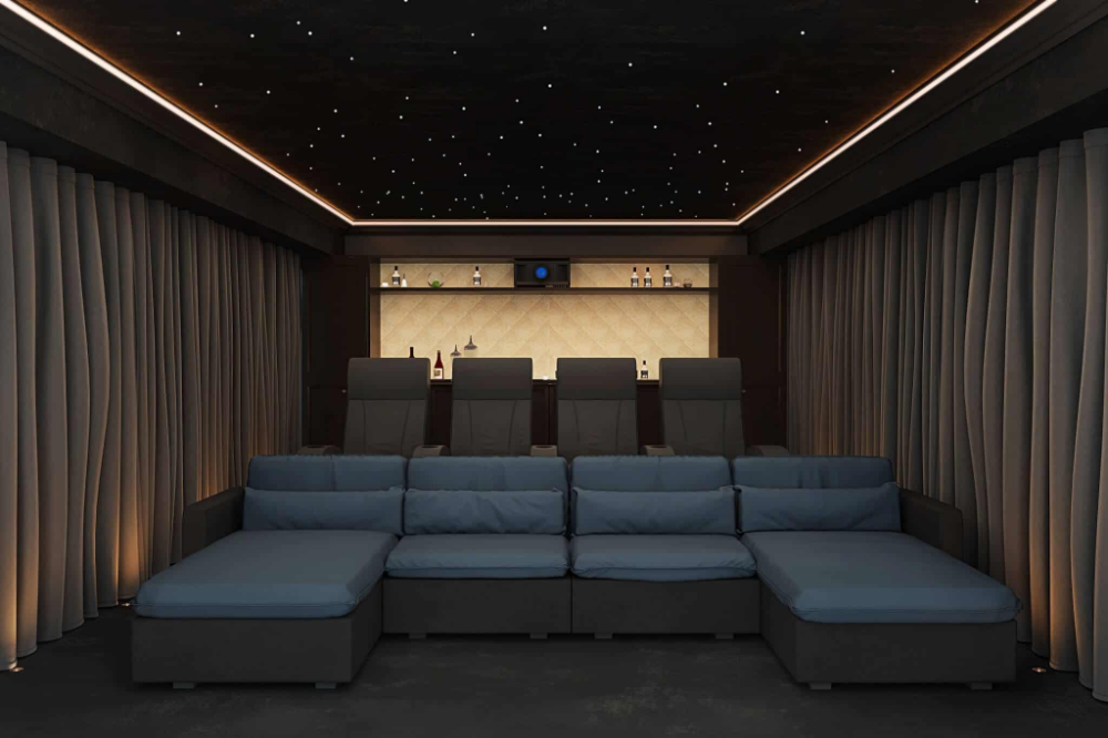 Home Cinema Lighting Design