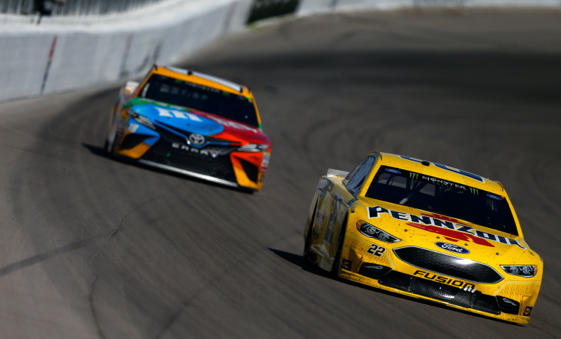 It isn't often that racing spats over wrecks get super technical. It's usually just a finger-pointing match over who hit whom and why. But after a wreck with Joey Logano in Las Vegas, Kyle Busch apparently asked to see his throttle data to determine if Logano hit him on purpose—after trying to punch him, of course.