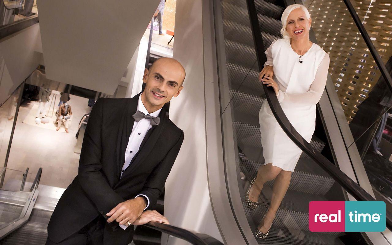e3da0acdf88d Real Time è  Shopping Night. Con Enzo Miccio e Carla Gozzi ...
