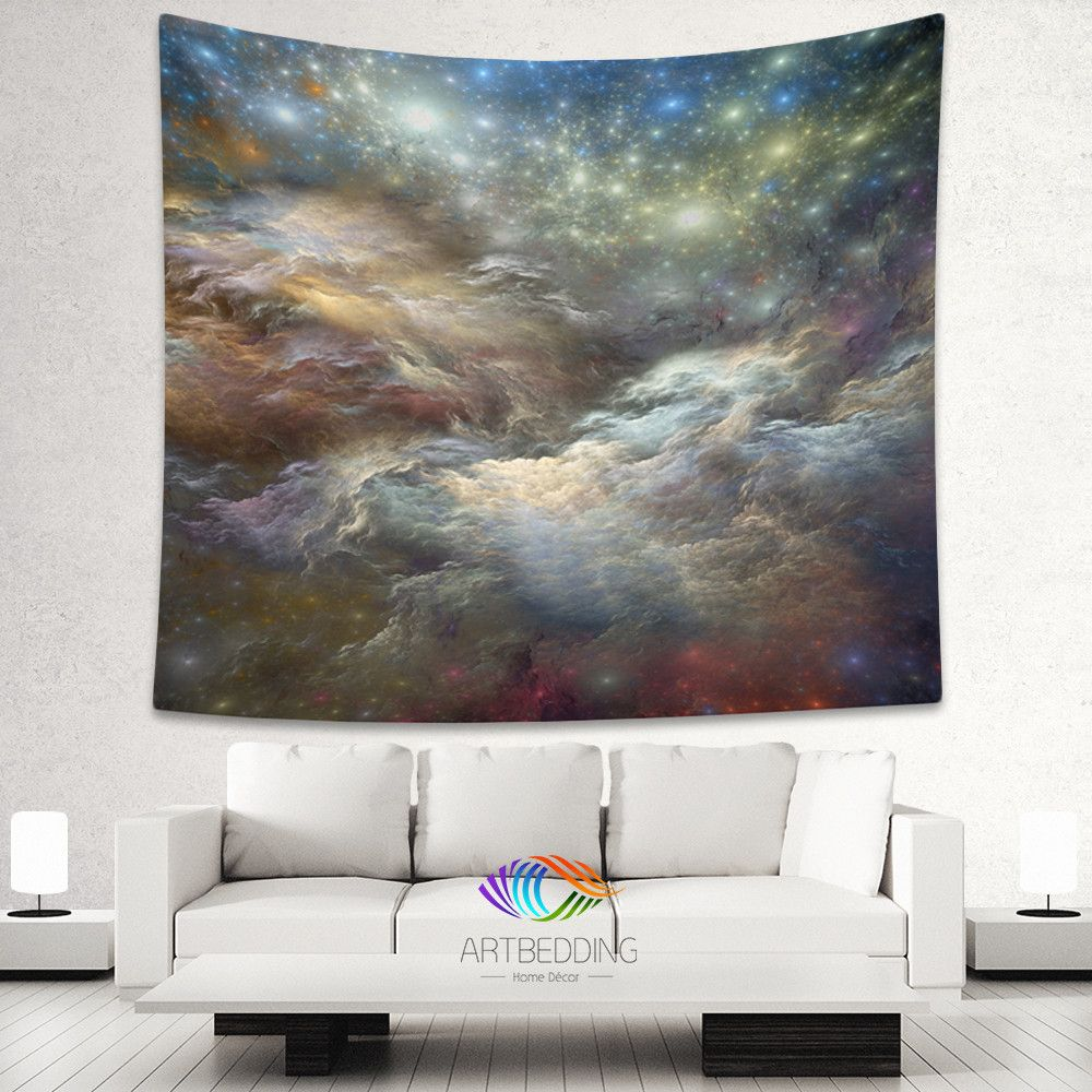 Galaxy Tapestry 3D Cosmos nebula with stars wall tapestry Galaxy tapestry wall hanging & Galaxy Tapestry 3D Cosmos nebula with stars wall tapestry Galaxy ...