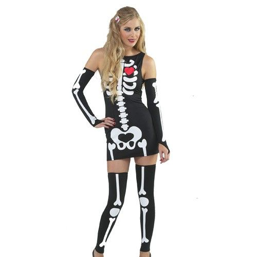 Our #sexy #skeleton #costume is perfect for #Halloween! Sexy - ladies halloween costume ideas