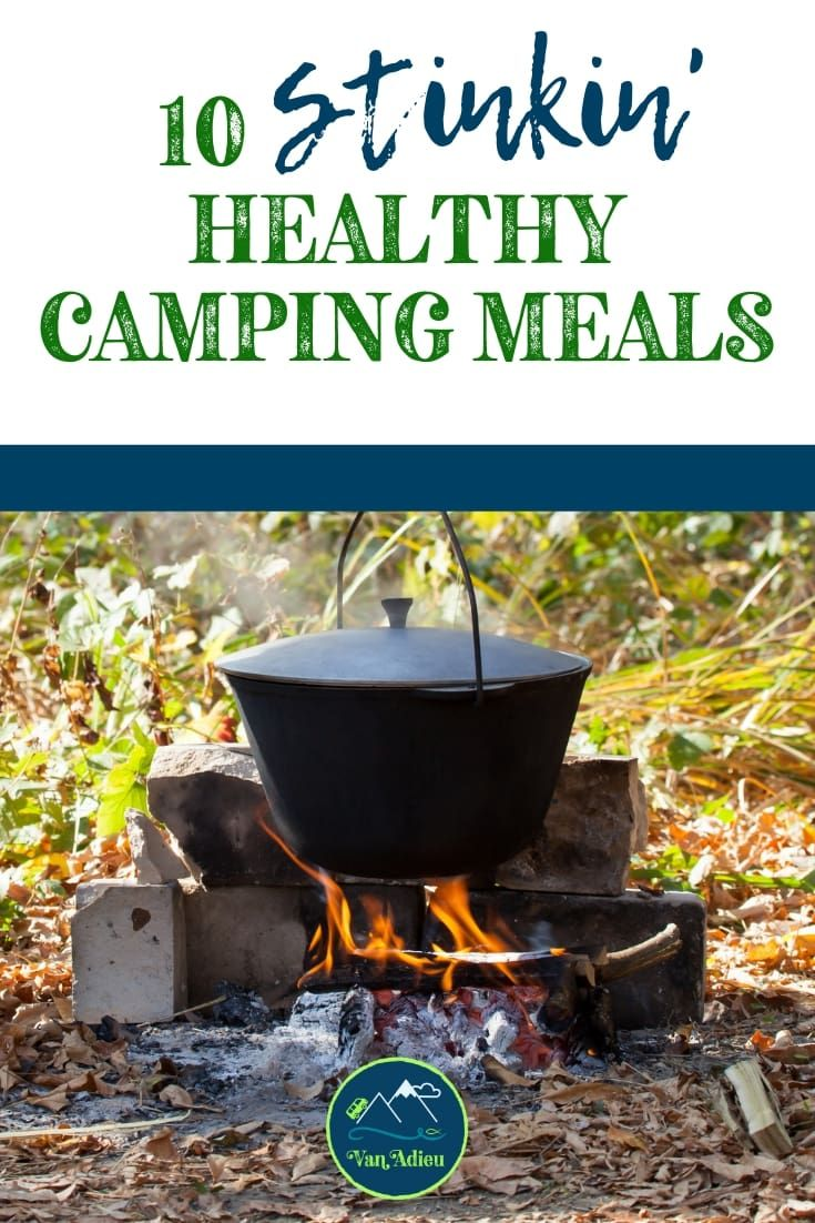healthy camping food options
