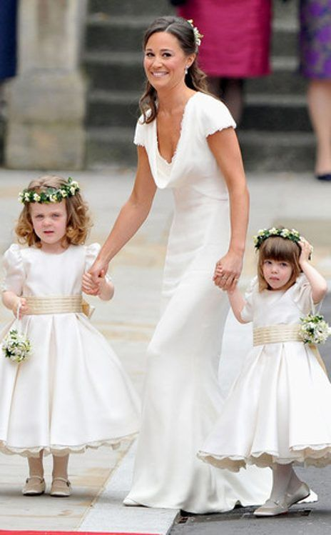 All White Wedding From Pippa Middletons Best Looks Clothes