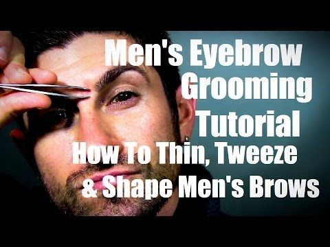 how to do your eyebrows men