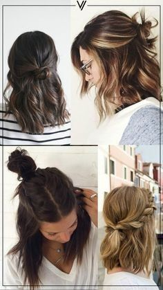 Unique Back To School Hairstyles Short Hair #unique #styles #short hair –  Uniqu…