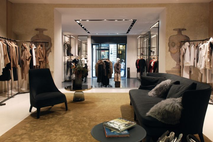 Max Mara Boutique By Duccio Grassi Architects Florence Italy Retail Design Blog