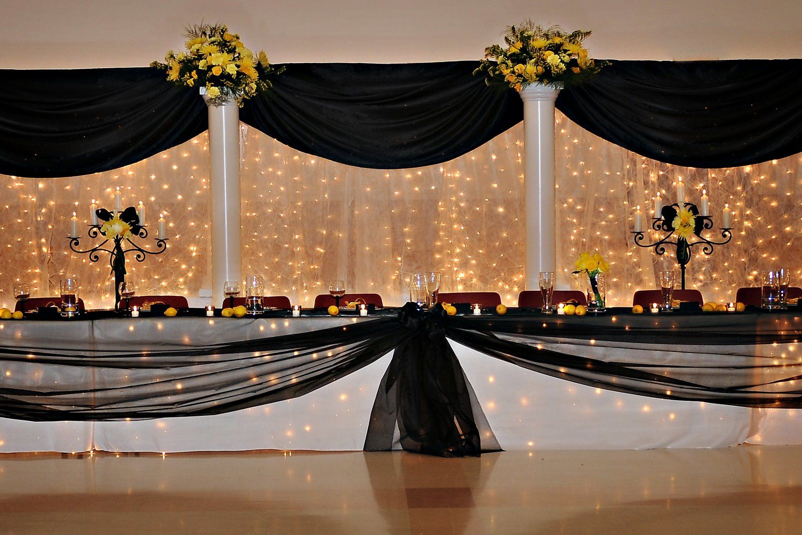 Wedding Table High Table Decorations For A Wedding 17 best images about string light backgrounds on pinterest receptions the head and wedding