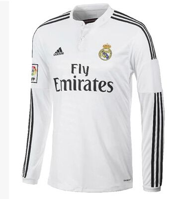 De manga larga Camiseta del Real Madrid Primera Equipación 2014 2015 ... 92487c115ea