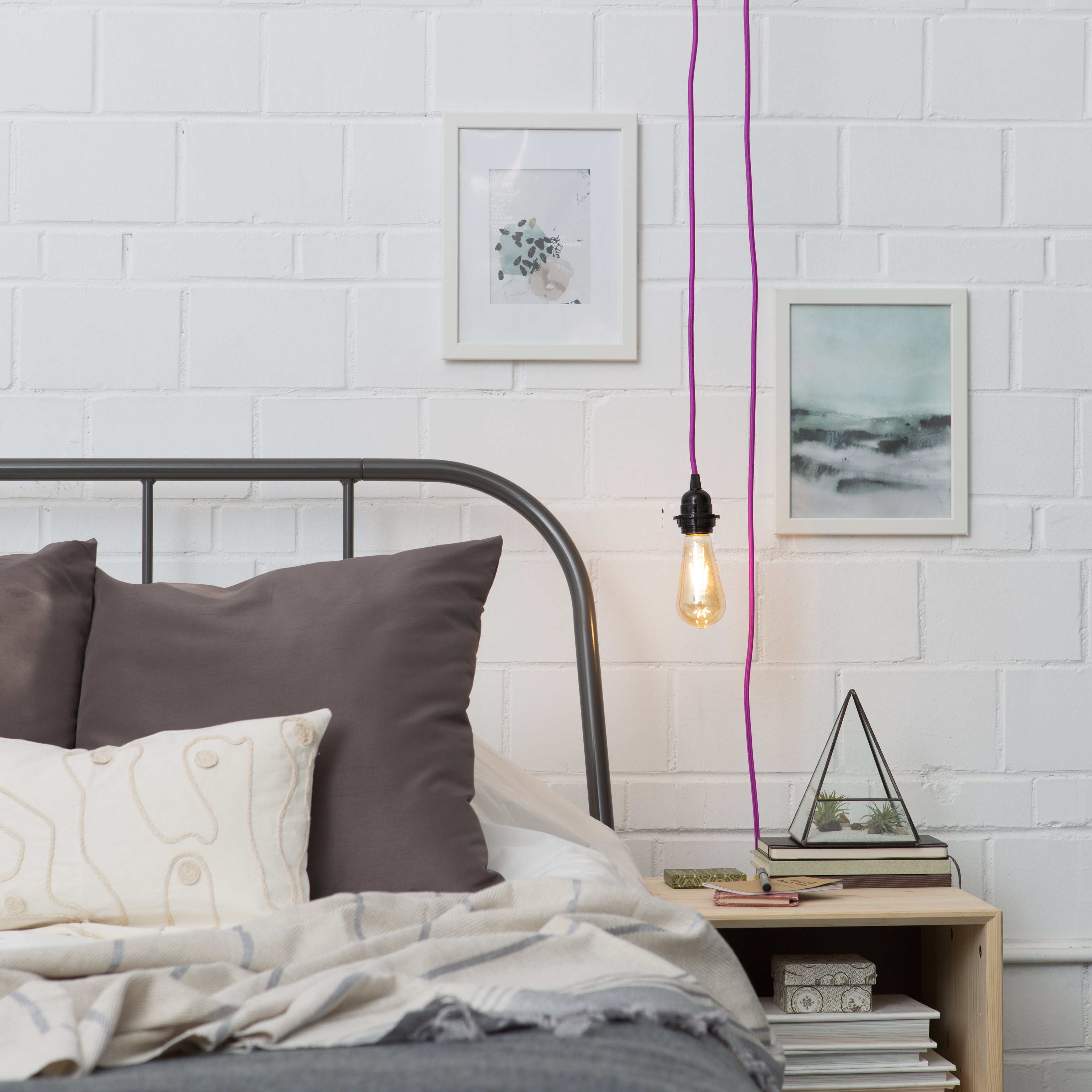 pendant lighting bedroom. Standard Plug-In Pendant Light Cord Set Lighting Bedroom