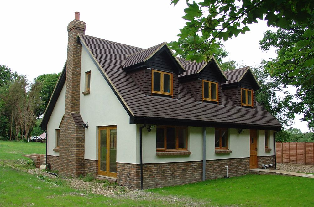 3 Bedroom Self Build Timber Frame House Design Bungalow Design Self Build Houses House Cladding