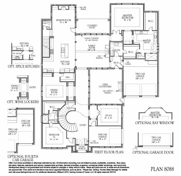 New Homes By Darling Homes Floor Plans House Floor Plans Fulshear