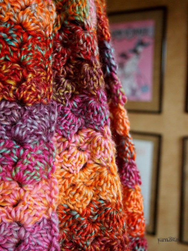 yarn: Red Heart Boutique Treasures in Abstract (3 skeins) pattern ...