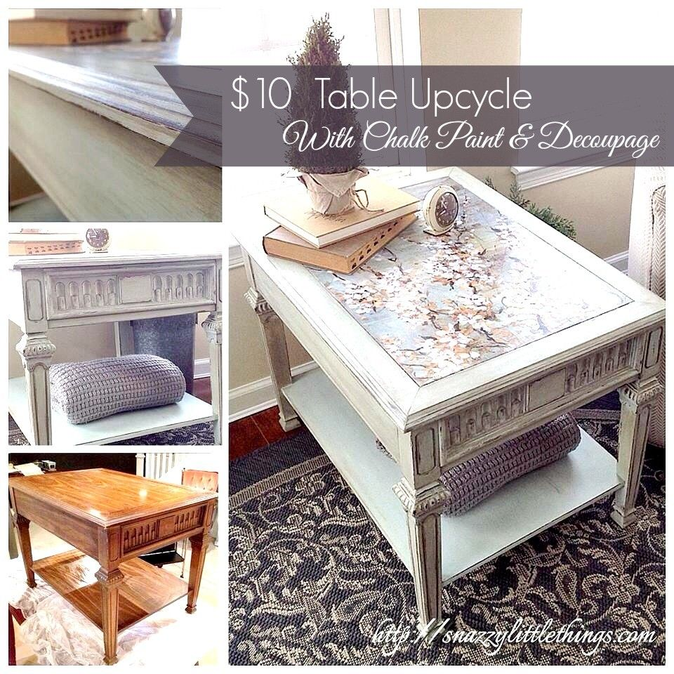 decoupage ideas for furniture. Upcycled Table With Decoupage Ideas For Furniture G